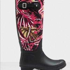 Hunter Original Tall Rain boots Jungle Print